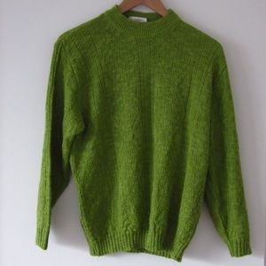 *Vintage* Crazy 8 - Green Mock Neck Knit Sweater